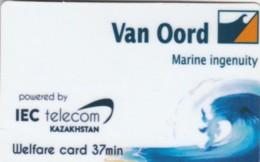 PREPAID PHONE CARD KAZAKISTAN  (E53.36.2 - Kazachstan
