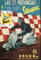 47983  Italia, Maximum 1996   50 Year Of Vespa, Scooter,   50 Anni Moto Vespa, - Cartoline Maximum