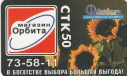 PREPAID PHONE CARD RUSSIA DALSVYAS SAKALIN (E53.31.8 - Rusia