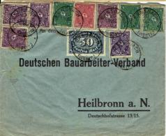 Deutsches Reich - Umschlag Echt Gelaufen / Cover Used (A849) - Deutschland