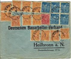Deutsches Reich - Umschlag Echt Gelaufen / Cover Used (A850) - Deutschland