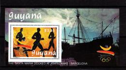 Olympics 1992 - History - GUYANA - S/S MNH - Summer 1992: Barcelona