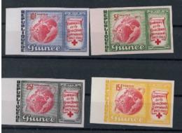 Guinee 1963 Nobel  Red Cross Croix Rouge Imperf  MNH - Nobel Prize Laureates