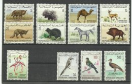 Tunisie Neufs ** MNH N° 615, 655 à 662 + PA 28/29/33, Cote 34€ 75 - Tunesien (1956-...)
