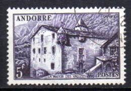 Col17  Andorre N° 124  Oblitéré  Cote 5,00€ - Usati