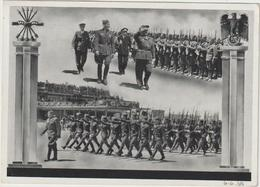 "Propagandakarte ""Heimkehr Der Legion Condor"" - Personen"