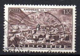 Col17  Andorre N° 132  Oblitéré  Cote 2,30€ - Usati