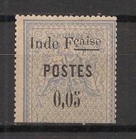 Inde - 1903 - N°Yv. 24 - Timbre Fiscal Coupé Et Surchargé - Neuf * / MH VF - Ungebraucht