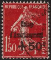 ~~~ France 1931 - Caisse D'Amortissement - Yv. 277 (o) - CV 110.00 Euro ~~~ - France
