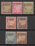 Inde - 1923 - Taxe TT N°Yv. 1 à 7 - Série Complète - Neuf Luxe ** / MNH / Postfrisch - Indien (1892-1954)
