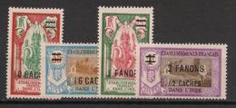Inde - 1928 - N°Yv. 81 à 84 - Série Complète - Neuf * / MH VF - Ungebraucht