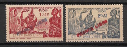 Inde - 1941 - N°Yv. 157 à 158 - Série Complète - France Libre - Neuf * / MH VF - Unused Stamps