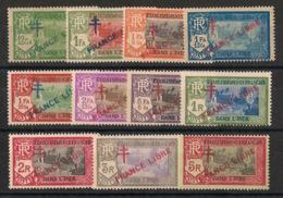 Inde - 1941-43 - N°Yv. 160 à 170 - France Libre - Série Complète - Neuf * / MH VF - Indien (1892-1954)