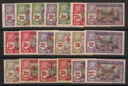 Inde - 1943 - N°Yv. 198 à 216 - Série Complète - France Libre - Neuf Luxe ** / MNH / Postfrisch - Indien (1892-1954)