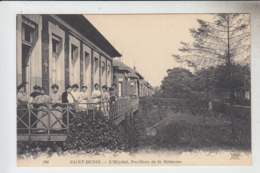 RT33.361   SAINT-DENIS. ( 93 )  L'HOPITAL , PAVILLONS DE LA MEDECINE. N° 196 ND Phot - Salute