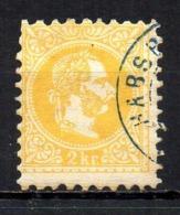 Austria 1874 Cancelled Tu - Usados