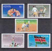 Olympics 1992 - Basketball - KENYA - Set MNH - Ete 1992: Barcelone