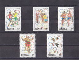 Olympics 1992 - Judo - KENYA - Set MNH - Summer 1992: Barcelona