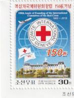 NORTH KOREA - COREA DEL NORTE - 2013 The 150th Anniversary Of The Red Cross - Corea Del Norte