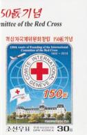 NORTH KOREA - COREA DEL NORTE - 2013 The 150th Anniversary Of The Red Cross Imperf. - Corea Del Norte