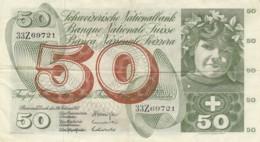 BANCONOTA SVIZZERA 50 FRANCHI VF (VX966 - Zwitserland