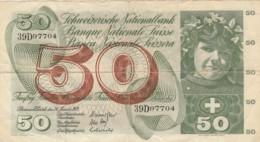 BANCONOTA SVIZZERA 50 FRANCHI VF- (VX967 - Svizzera
