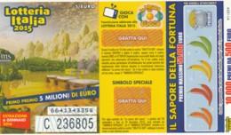 BIGLIETTO LOTTERIA 2016 (VX755 - Billetes De Lotería