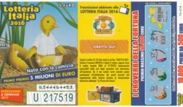 BIGLIETTO LOTTERIA 2017 (VX758 - Billetes De Lotería