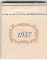 CALENDARIO 1937 PICCOLISSIMO FORMATO (VX760 - Formato Piccolo : 1921-40