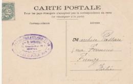 CARTOLINA POSTALE ANNI 20 FRANCIA CHATEAU DE BONNETABLE (VX662 - Lettres & Documents