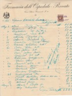 FATTURA 1938 CON MARCA DA BOLLO (VX900 - Italia