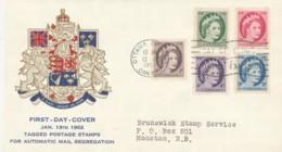 FDC 1962 OTTAWA CANADA (VX587 - 1961-1970