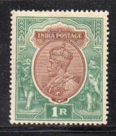 APR1714 - INDIA 1911 , Yvert N. 91  *  Linguella (2380A) .  Star - Mauritius (...-1967)