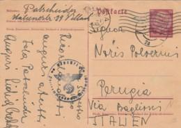 INTERO POSTALE 1941 TIMBRO NAZISTA GERMANIA (VX531 - Capitan Flam