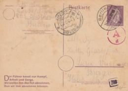 INTERO POSTALE 1944 TIMBRO BERLINO GERMANIA (VX529 - Capitan Flam