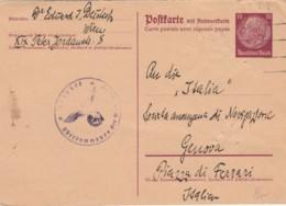 INTERO POSTALE ANNI 40 ANNULLO NAZISTA GERMANIA (VX502 - Capitan Flam