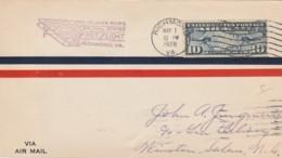LETTERA 1928 USA RICHMOND WINSTON SALEM (VX568 - Stati Uniti