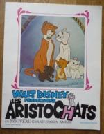 DOSSIER DE PRESSE FILM LES ARISTOCHATS Walt Disney 1970 - Werbetrailer