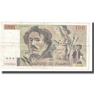 France, 100 Francs, Delacroix, 1991, BRUNEEL, BONARDIN, VIGIER, TB - 1962-1997 ''Francs''