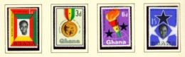 GHANA  -  1962 Founders Day Set Unmounted/Never Hinged Mint - Ghana (1957-...)