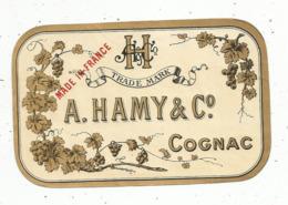 étiquette , COGNAC , A. HAMY & Co à Cognac - Andere