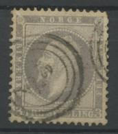 Norvege (1856) N 3 (o) - Noruega