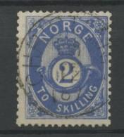Norvege (1871) N 17 (o) - Norway