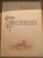 SUPPLEMENT DU JOURNAL DU TOUR DE FRANCE VILLE DE REIMS AVEC LITHOGRAPHIE LE DECOR DES SACRES - Collections