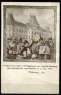 "German Empires/Rumänien 1916 Feldwerbepostkarte""Bukarester Tagblatt-Kriegausgabe,belebt "" 1Karte Blanco - Romania"
