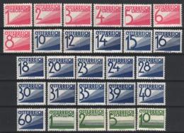 1925-34 Yvert Nº 131 / 154, MNH,   MH - Impuestos