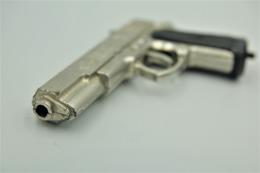 Vintage TOY GUN : EAGLE DESERT SEAPEAL- Keychain L= 9cm - 19**s - Keywords : Cap - Cork Gun - Rifle - Revolver - Pistol - Decotatieve Wapens