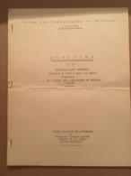 CORSE UNION DES COMBATTANTS CORSES DISCOURS DE MR ROGER PALMIERI - Old Paper