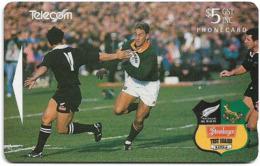 New Zealand - Advertising Cards - Onwards '92 - Andre Joubert, 1994, 5$, 22.500ex, Used - Nouvelle-Zélande
