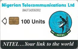 Nigeria - Nitel - Earth Station, Cn. 8NAIFIA, 100Units, Used - Nigeria